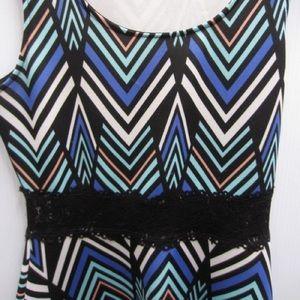 Charlotte Russe szM striped dress